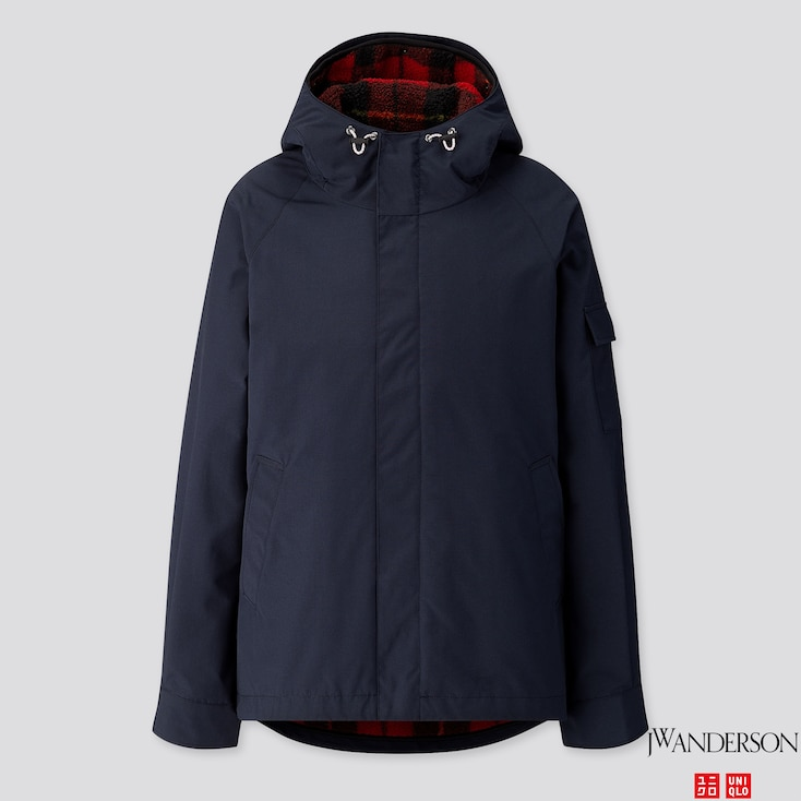 Men 3-Way Military Parka (Jw Anderson), Navy, Large