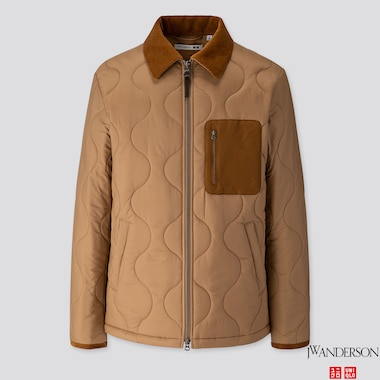MEN QUILTED BLOUSON (JW ANDERSON), BEIGE, medium