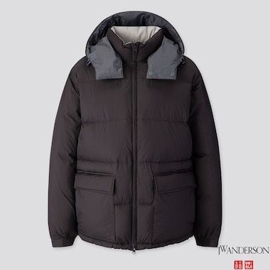 MEN REVERSIBLE DOWN JACKET (JW ANDERSON), BLACK, medium