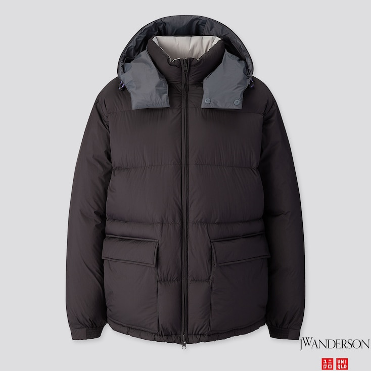 MEN REVERSIBLE DOWN JACKET (JW ANDERSON), BLACK, large
