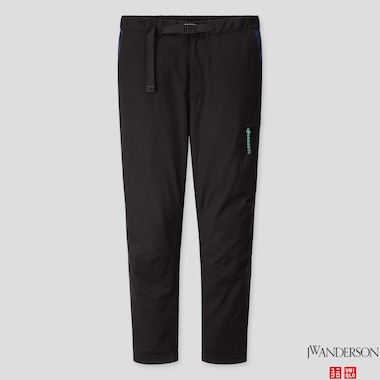 MEN HEATTECH WARM LINED PANTS (JW ANDERSON), BLACK, medium