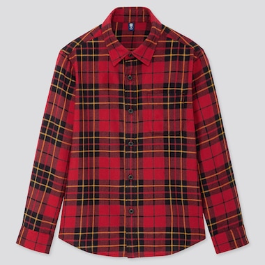 KIDS FLANNEL CHECKED SHIRT