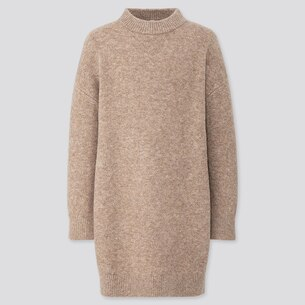 Souffle Yarn Crew Neck Long-Sleeve Dress/us/en/422121.html