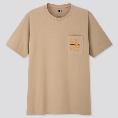 THE LION KING UT (SHORT-SLEEVE GRAPHIC T-SHIRT), BEIGE, medium