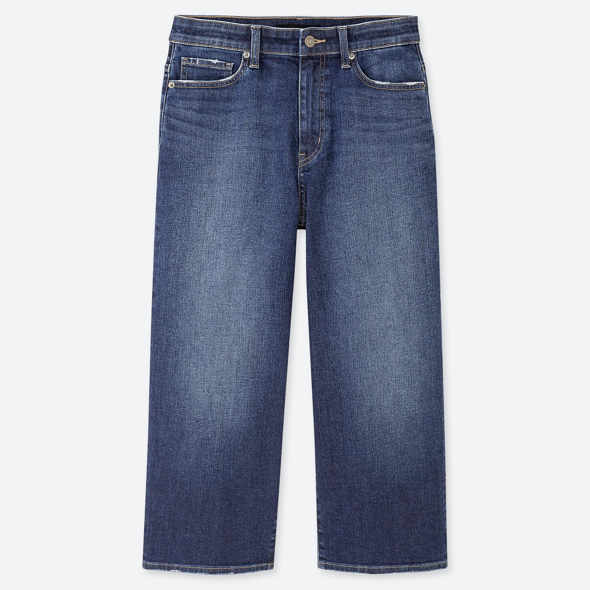 New Womens Blue Crop Ankle Wide Leg NEXT Jeans Size 20 18 16 14 12 10 6 RRP £28