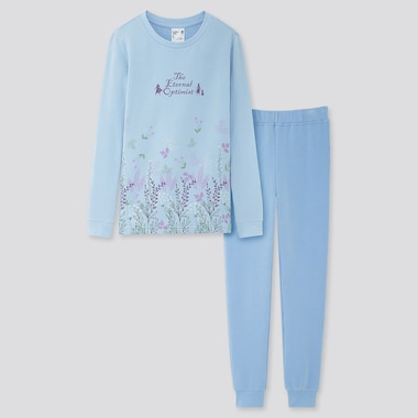 GIRLS FROZEN 2 ULTRA STRETCH LONG-SLEEVE SWEAT SET, BLUE, medium