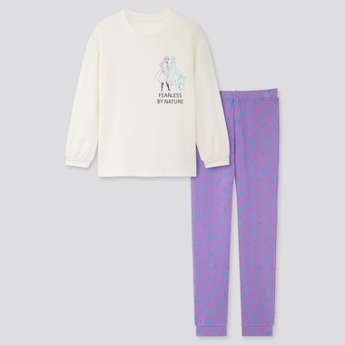GIRLS DISNEY FROZEN 2 UT ULTRA STRETCH SWEAT SET