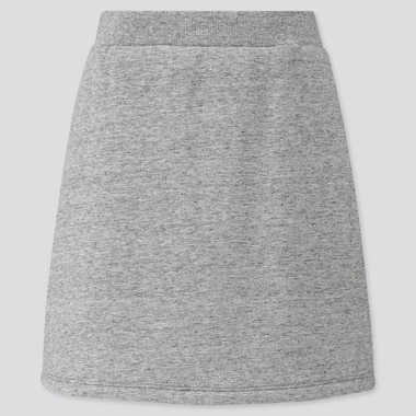 GIRLS FLEECE LINED SWEAT SKIRT