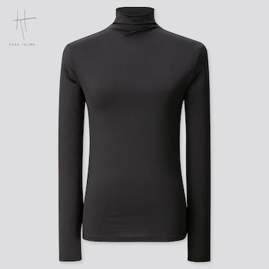 Women Hana Tajima High Neck Long Sleeved T-Shirt
