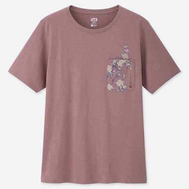 WOMEN EDO UKIYO-E UT GRAPHIC T-SHIRT