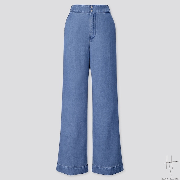 Women Indigo Flare Pants (Hana Tajima) by Uniqlo