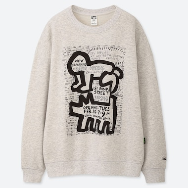 WOMEN SPRZ NY KEITH HARING UT GRAPHIC SWEATSHIRT
