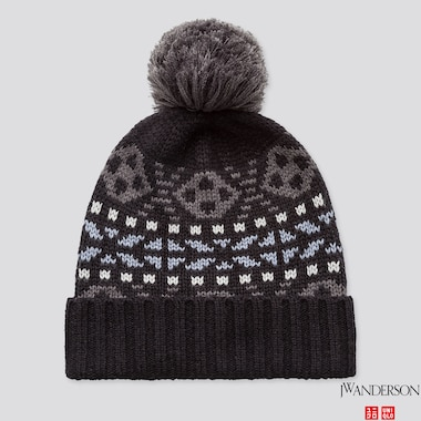 HEATTECH KNITTED CAP (JW ANDERSON), BLACK, medium