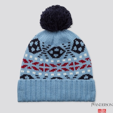 HEATTECH KNITTED CAP (JW ANDERSON), BLUE, medium