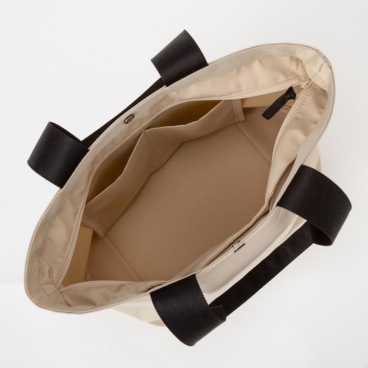 Women Nylon Tote Bag, Black, Large