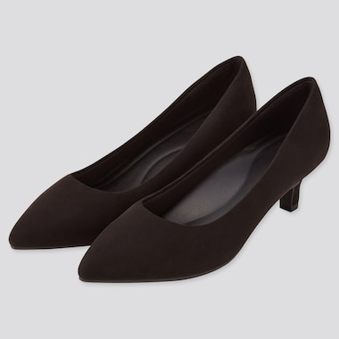 Women Comfort Feel Heeled Shoes (Online Exclusive), Black, Medium