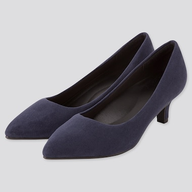 Women Comfort Feel Heeled Shoes (Online Exclusive), Navy, Medium