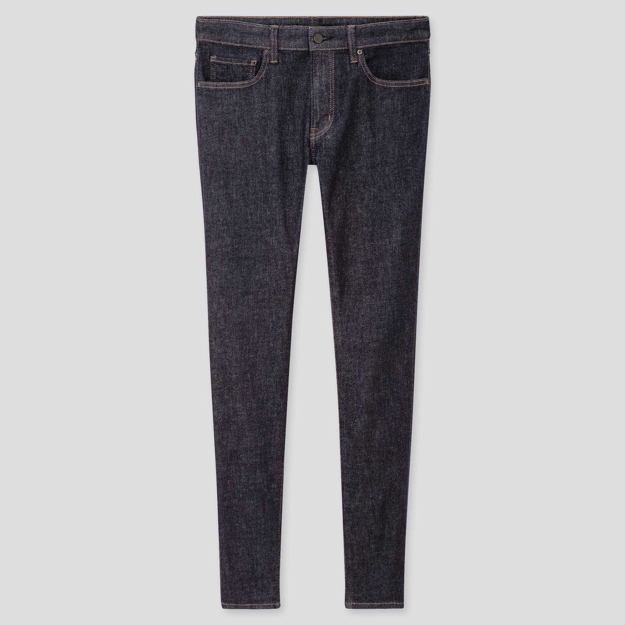 Men Ultra Stretch Skinny Fit Jeans (L34)