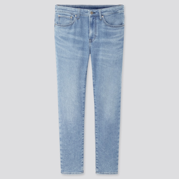 Men Ezy Jeans, Light Blue, Large