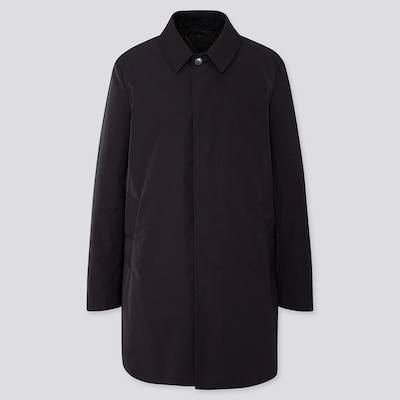 Men Single Breasted Coat  (2) by Uniqlo
