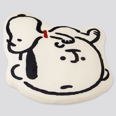 PEANUTS YU NAGABA CUSHION (ONLINE EXCLUSIVE), WHITE, medium