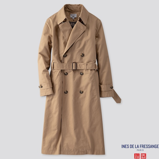 sports shoes 46ce5 8a059 DAMEN INES TRENCHCOAT | UNIQLO