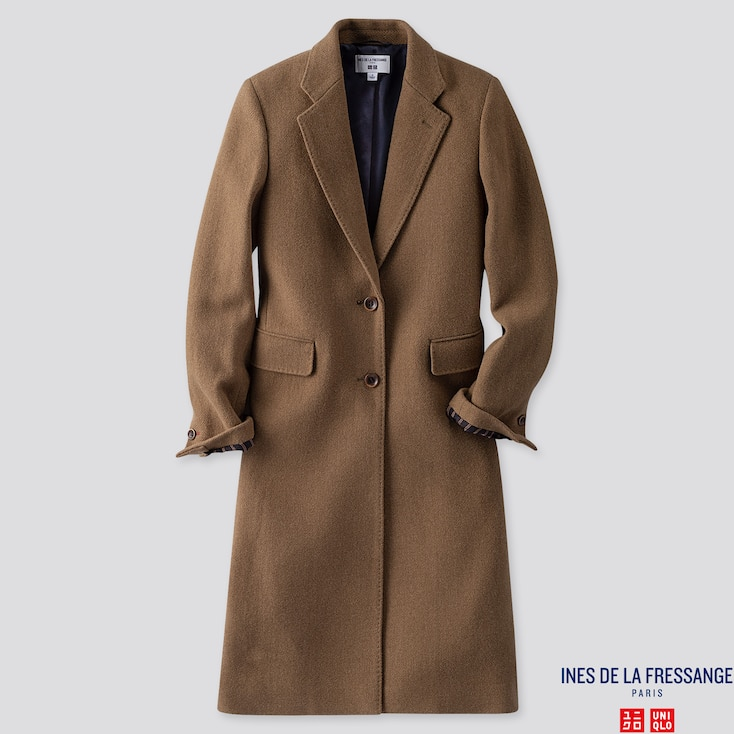 WOMEN CHESTER COAT (INES DE LA FRESSANGE), OLIVE, large