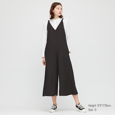 Women Linen Blend Jumpsuit