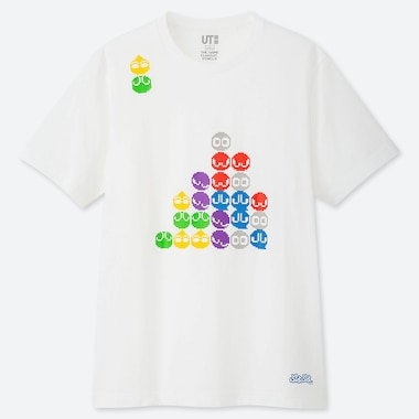 THE GAME PIXELS UT (SHORT-SLEEVE GRAPHIC T-SHIRT), WHITE, medium