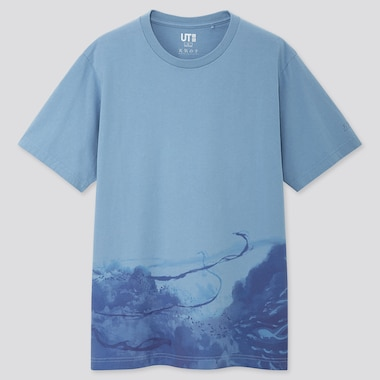 MEN MAKOTO SHINKAI FILMS UT GRAPHIC T-SHIRT