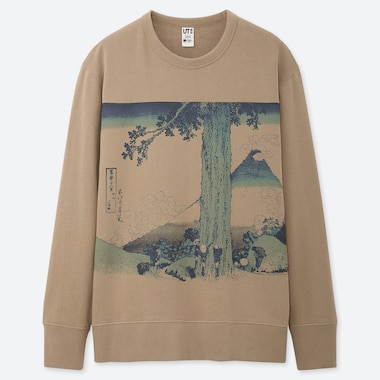 MEN EDO UKIYO-E UT GRAPHIC SWEATSHIRT