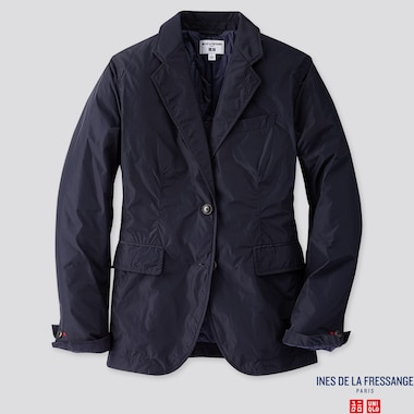 WOMEN JACKET (INES DE LA FRESSANGE), NAVY, medium