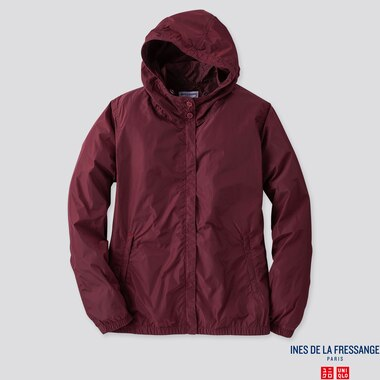 WOMEN PARKA (INES DE LA FRESSANGE), WINE, medium