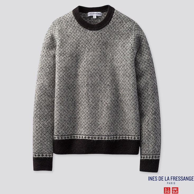 Damen Ines Pullover Aus Jaquard by Uniqlo