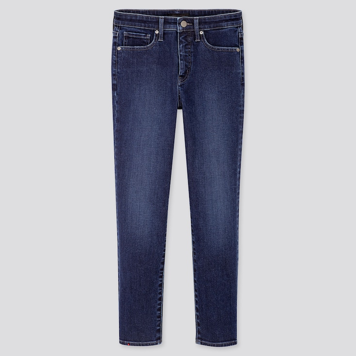 Women Beauty Compression High Rise Skinny Fit Ankle Length Jeans (L31) by Uniqlo