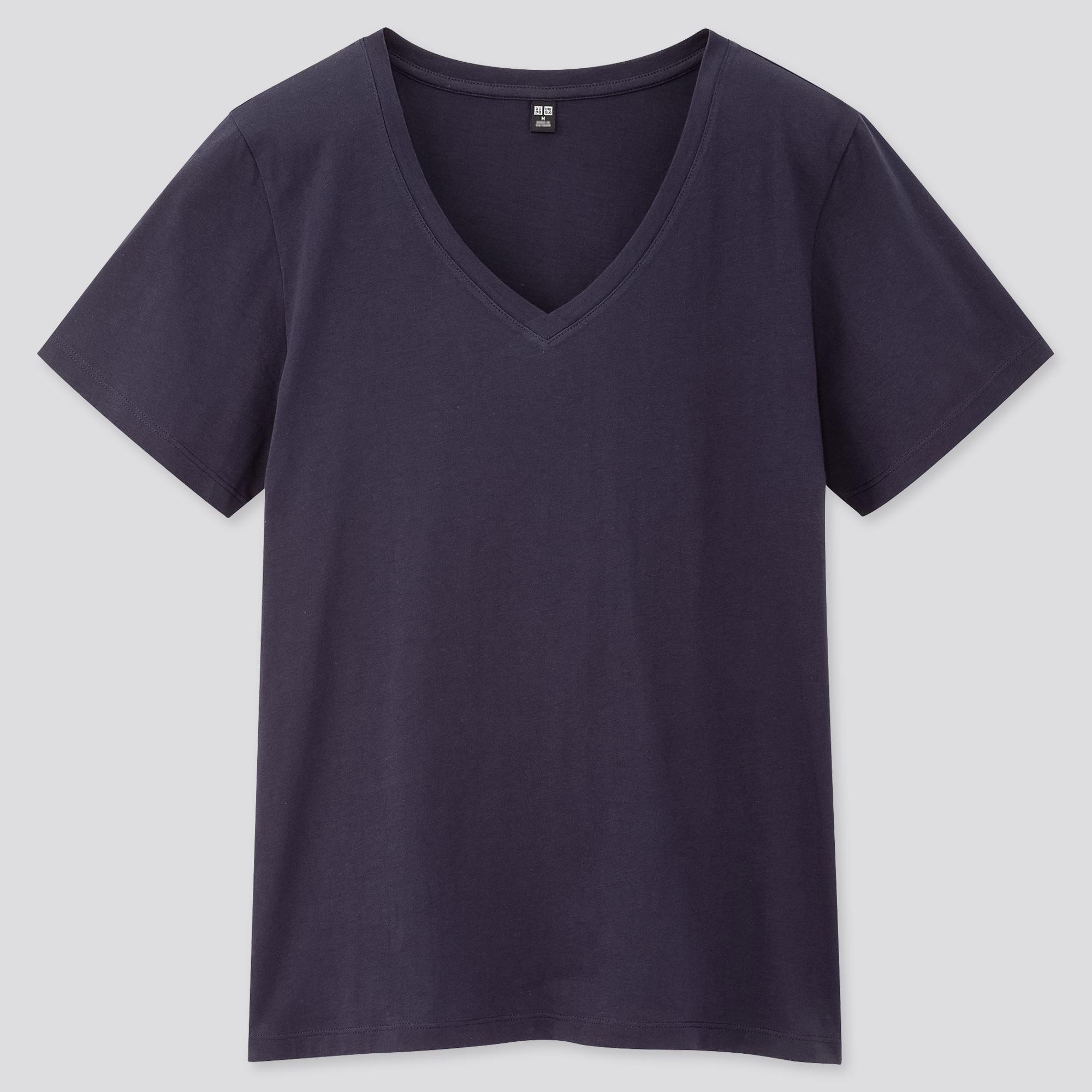 women supimaֲ® cotton v-neck short-sleeve t-shirt