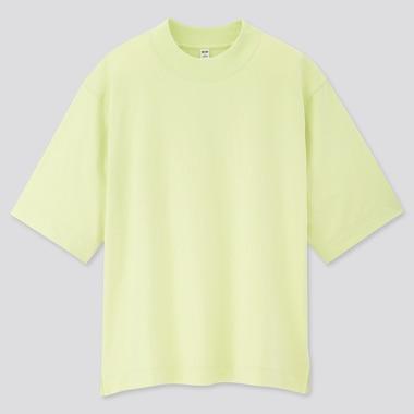Camiseta Algodón Relax Cuello Redondo Mujer
