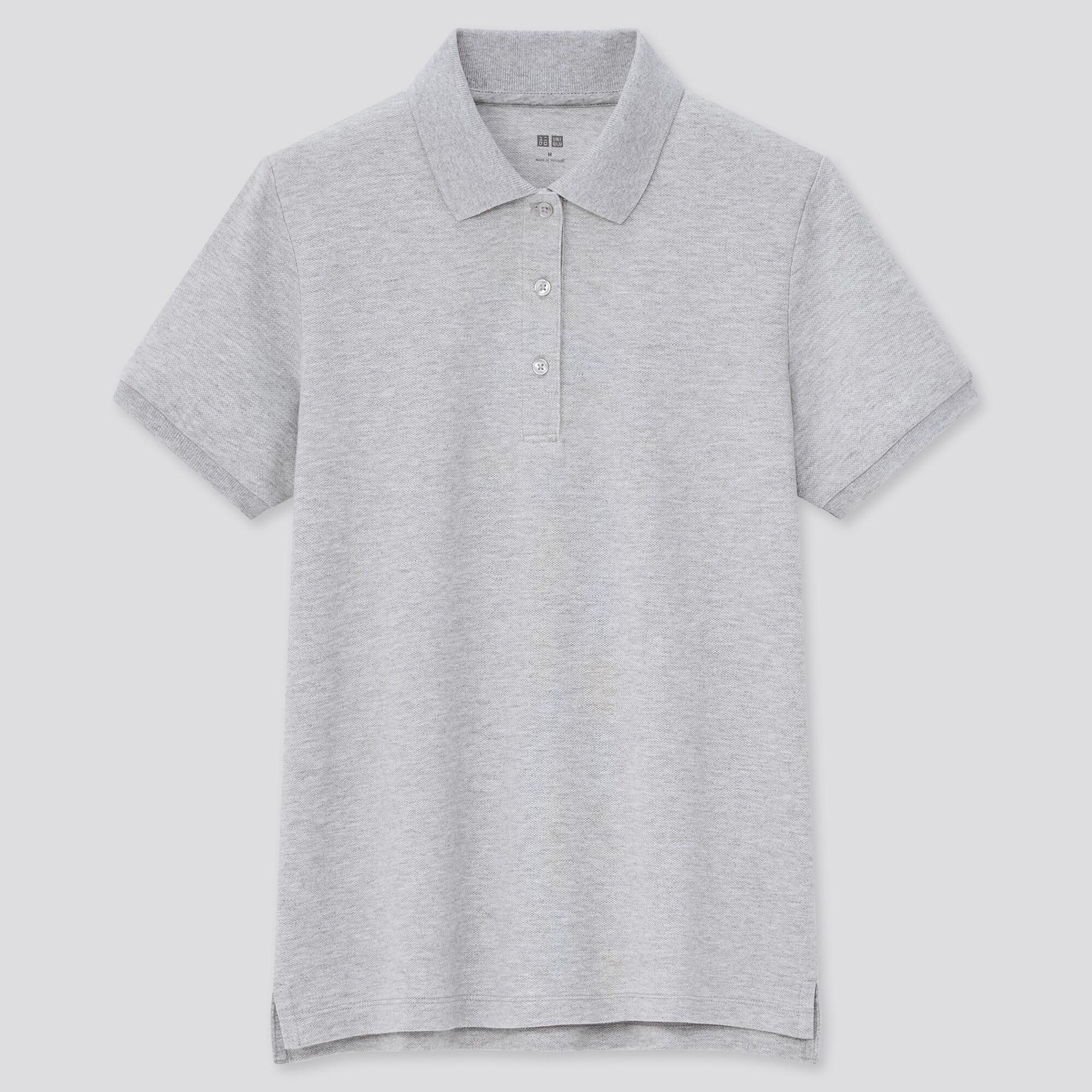 Women Stretch Piqué Polo Shirt