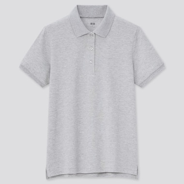 Women Stretch Piqué Polo Shirt