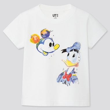 UT MICKEY ART T-SHIRT GRAPHIQUE ENFANT