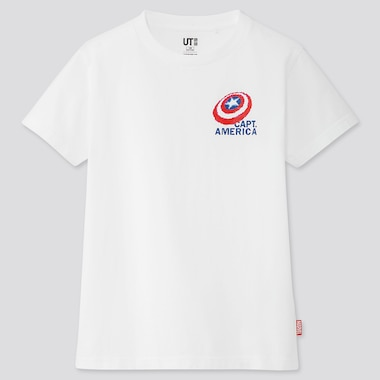 KINDER UT BEDRUCKTES T-SHIRT MARVEL