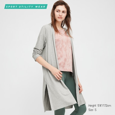 Women AIRism UV Protection Longline Cardigan