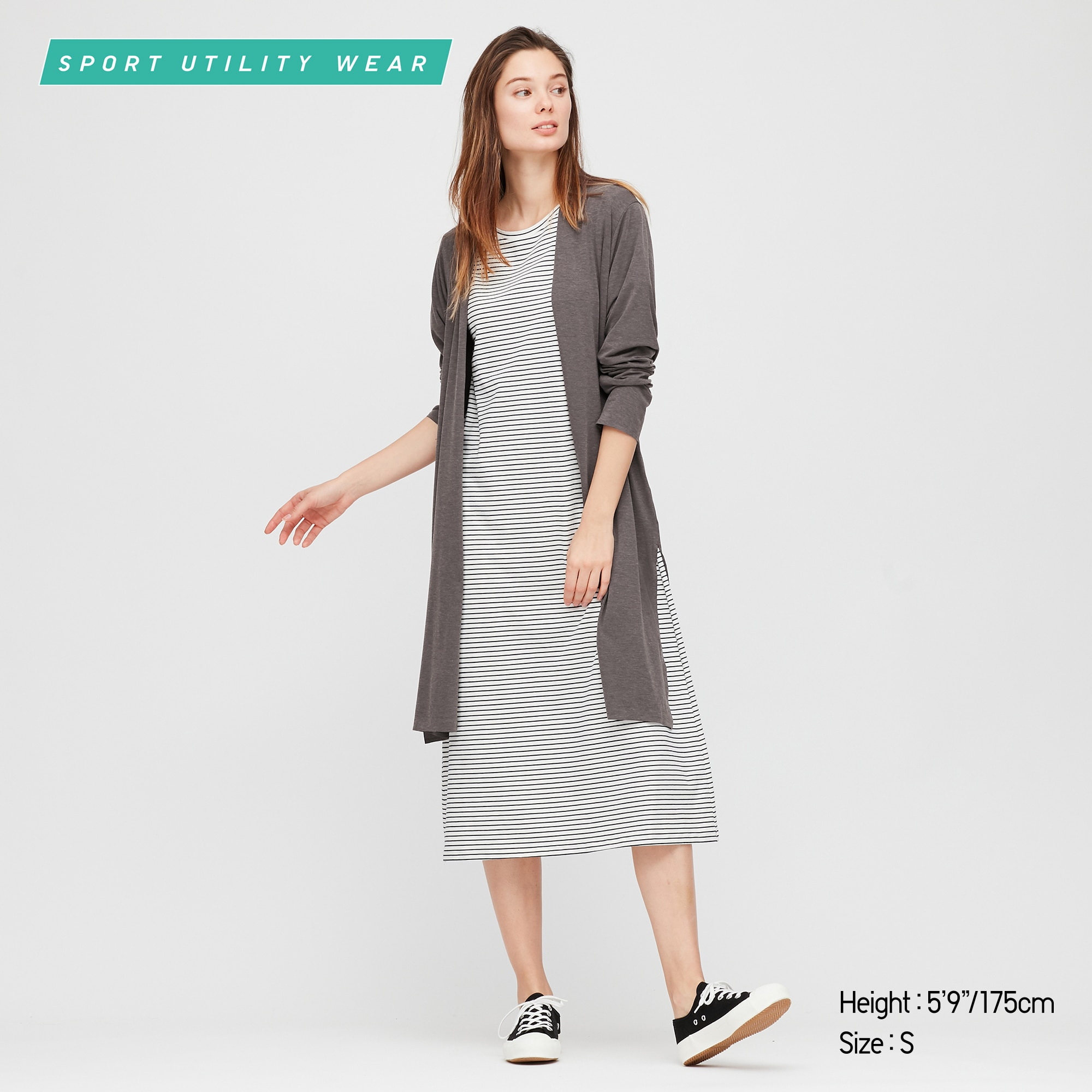 WOMEN AIRism UV PROTECTION LONG-SLEEVE LONG CARDIGAN
