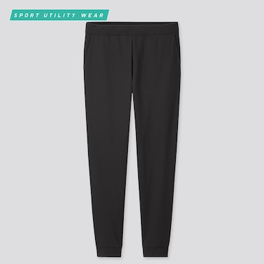 Women Ultra Stretch Active Ankle-Length Pants, Black, Medium