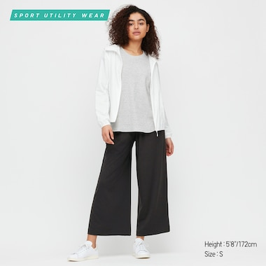 Women AIRism Wide Leg Trousers