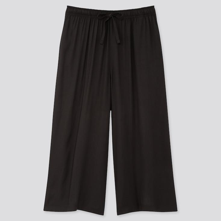 Women Relaco 3/4 Shorts, Black, Large