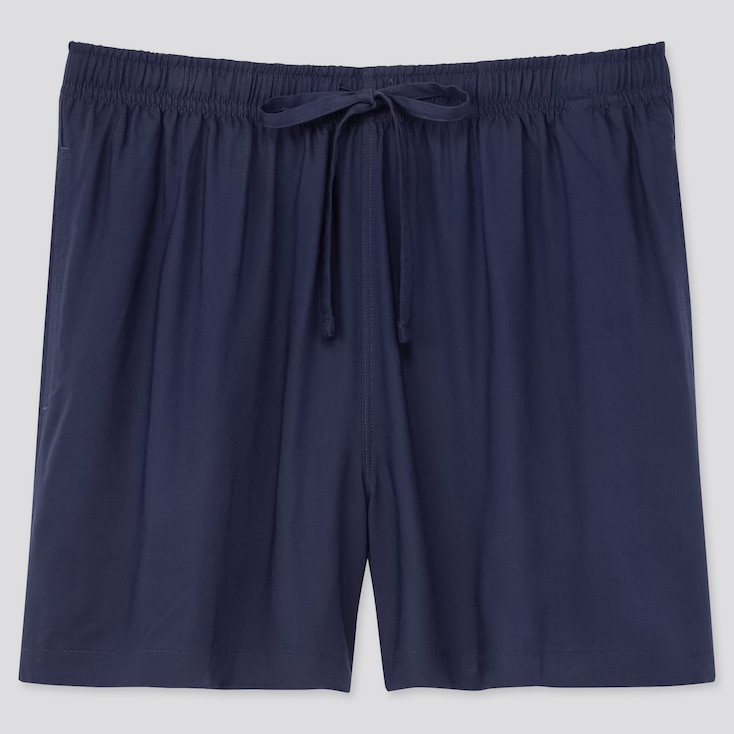 Women Relaco Shorts, Navy, Large