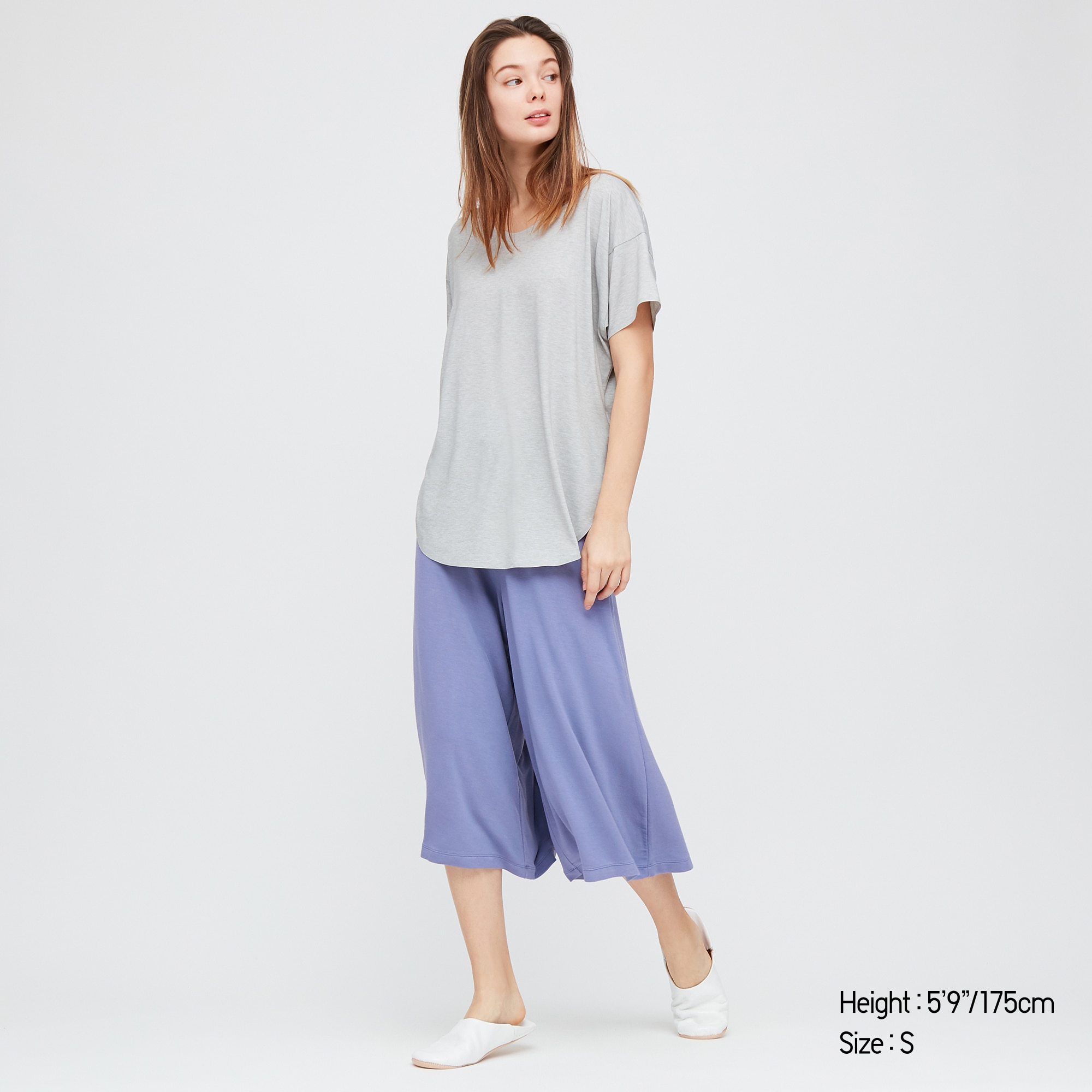 Women Ultra Stretch Soft Cropped Trousers