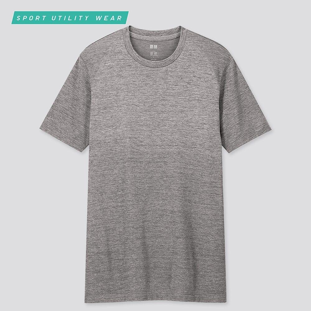men DRY-EX crew neck short-sleeve t-shirt