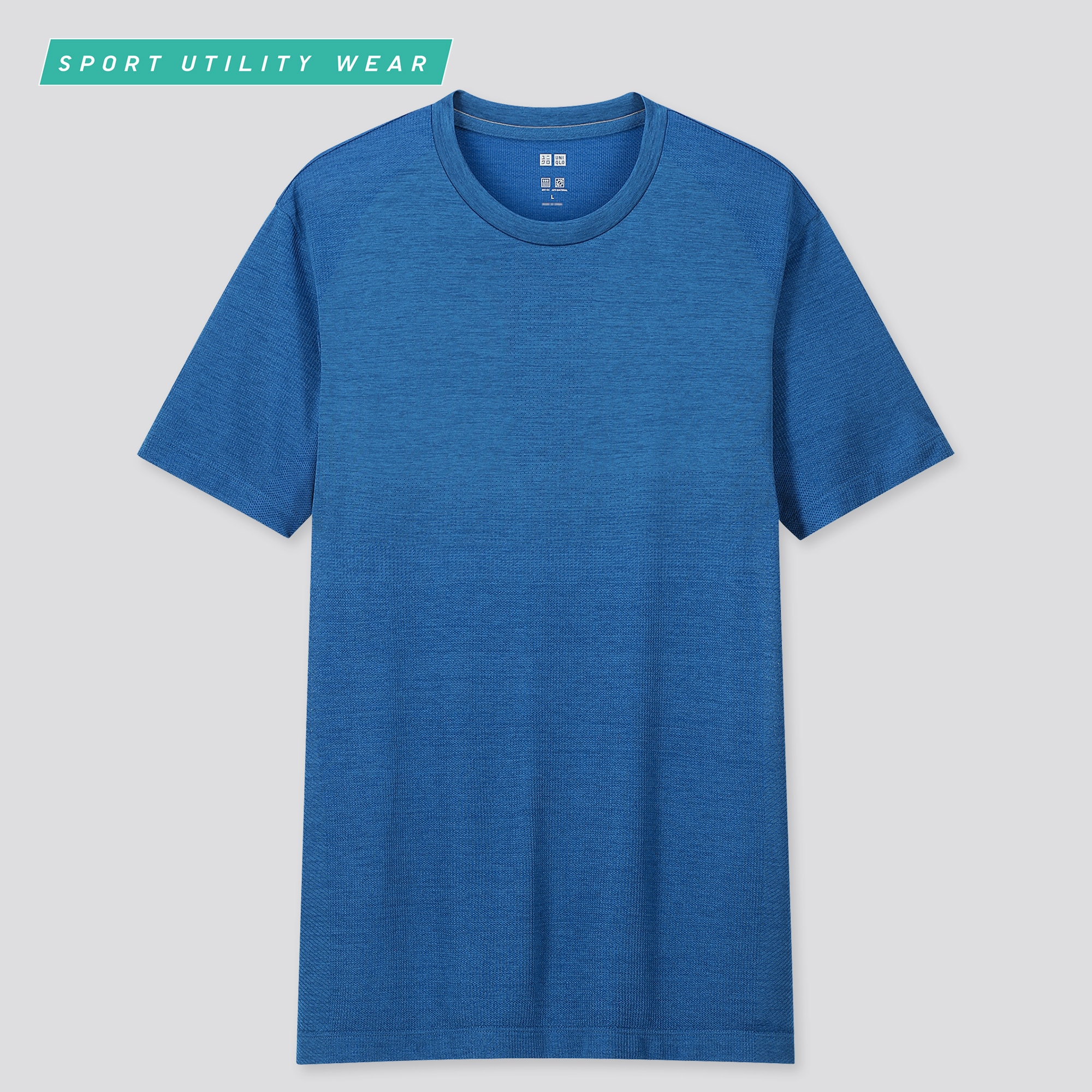 men DRY-EX crew neck short-sleeve t-shirt